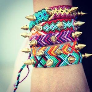 Jewelry - New 💥 Spike Festival Bracelet